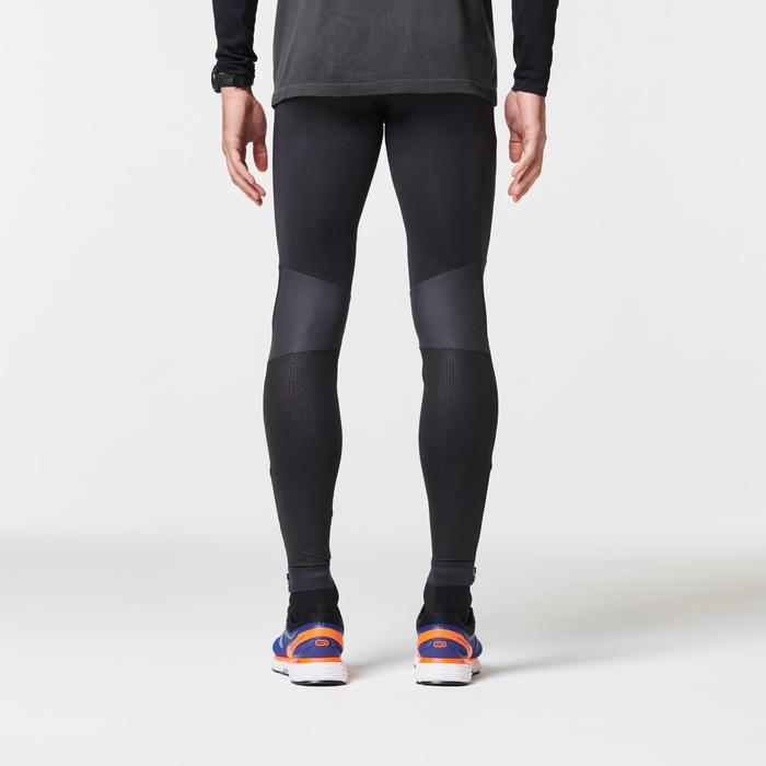 男款跑步緊身褲KIPRUN - 黑色