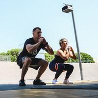Strength Training Resistance Band Glute Band - Medium