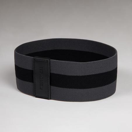 Bandas elásticas Glúteos Crossfitness Domyos elastic band resistencia dura