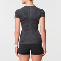 Kiprun Skincare Breathable Women's Running T-Shirt - Black