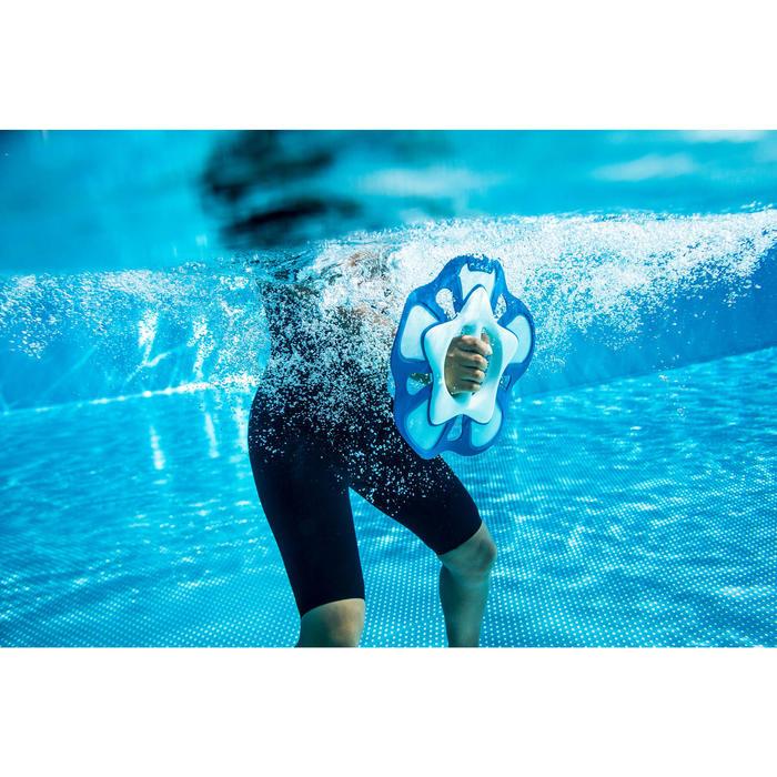 Shortybadpak voor aquafitness dames zwart square