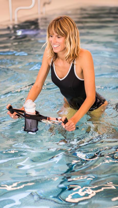 aquabike piscine