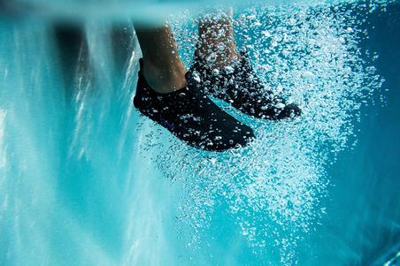 Chaussons Aquagym,Aquabike et Aquafitness Aquadots  noir
