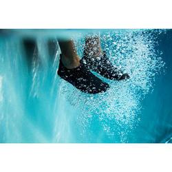 Waterschoenen voor aquagym aquabike aquafitness Aquadots zwart
