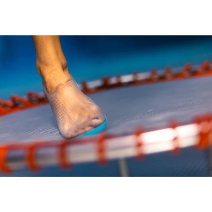 Schoentjes voor aquagym, aquabiken en aquafitness Aquafun transparant