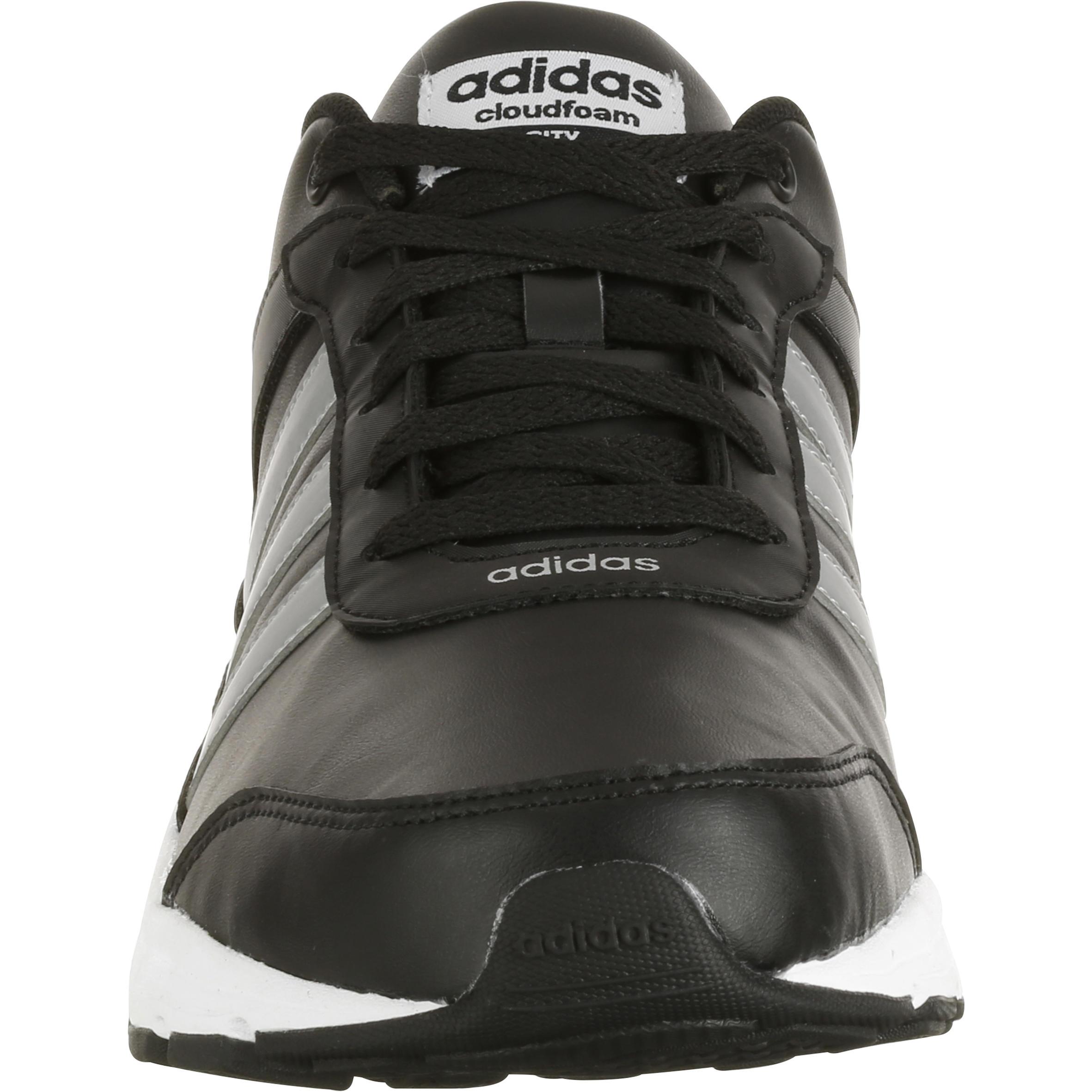 Noir Homme Sportive City Chaussures Marche Cloudfoam cLR4j35qA