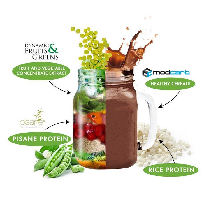Plantaardige eiwitten Vegan chocolade 750 g