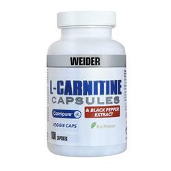 L carnitina BODY SHAPER WEIDER 100 cápsulas