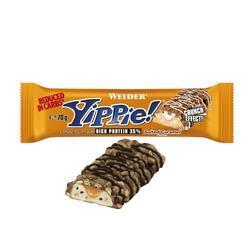 Barre proteine Yippie caramel salé 70g