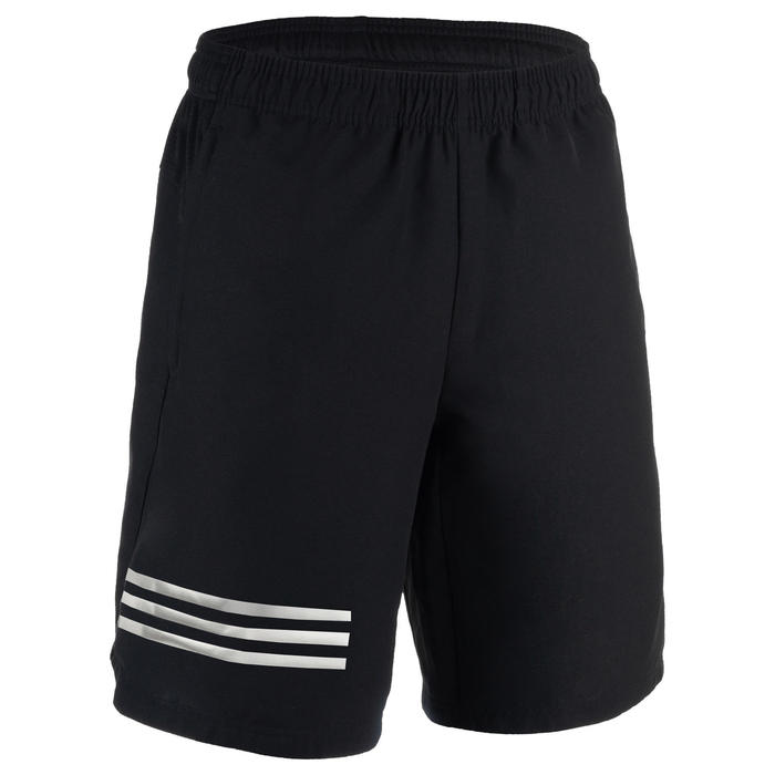 Sporthose kurz Fitness Cardio Herren schwarz