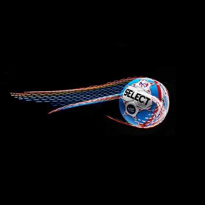 Ballon de handball Select Replica adulte T2 blanc/bleu