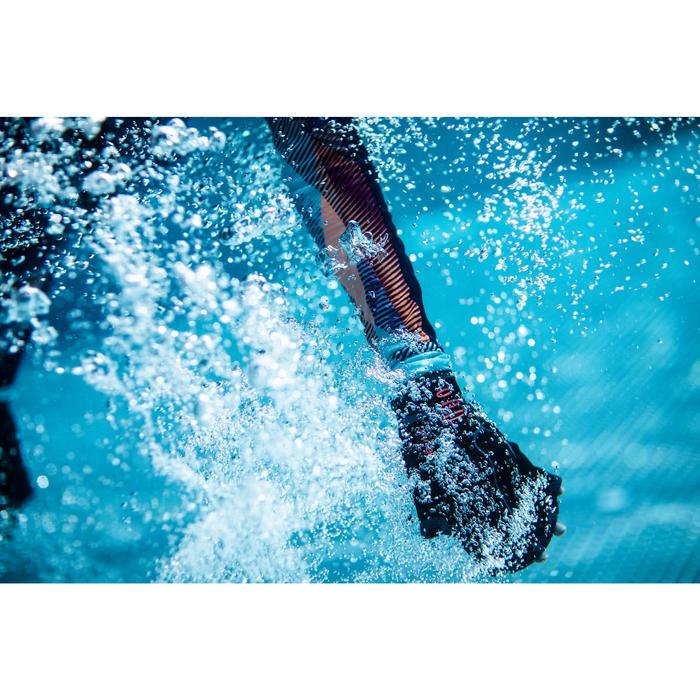 Par de Luvas Barbatana de Hidroginástica/Aquafitness Neopreno Preto