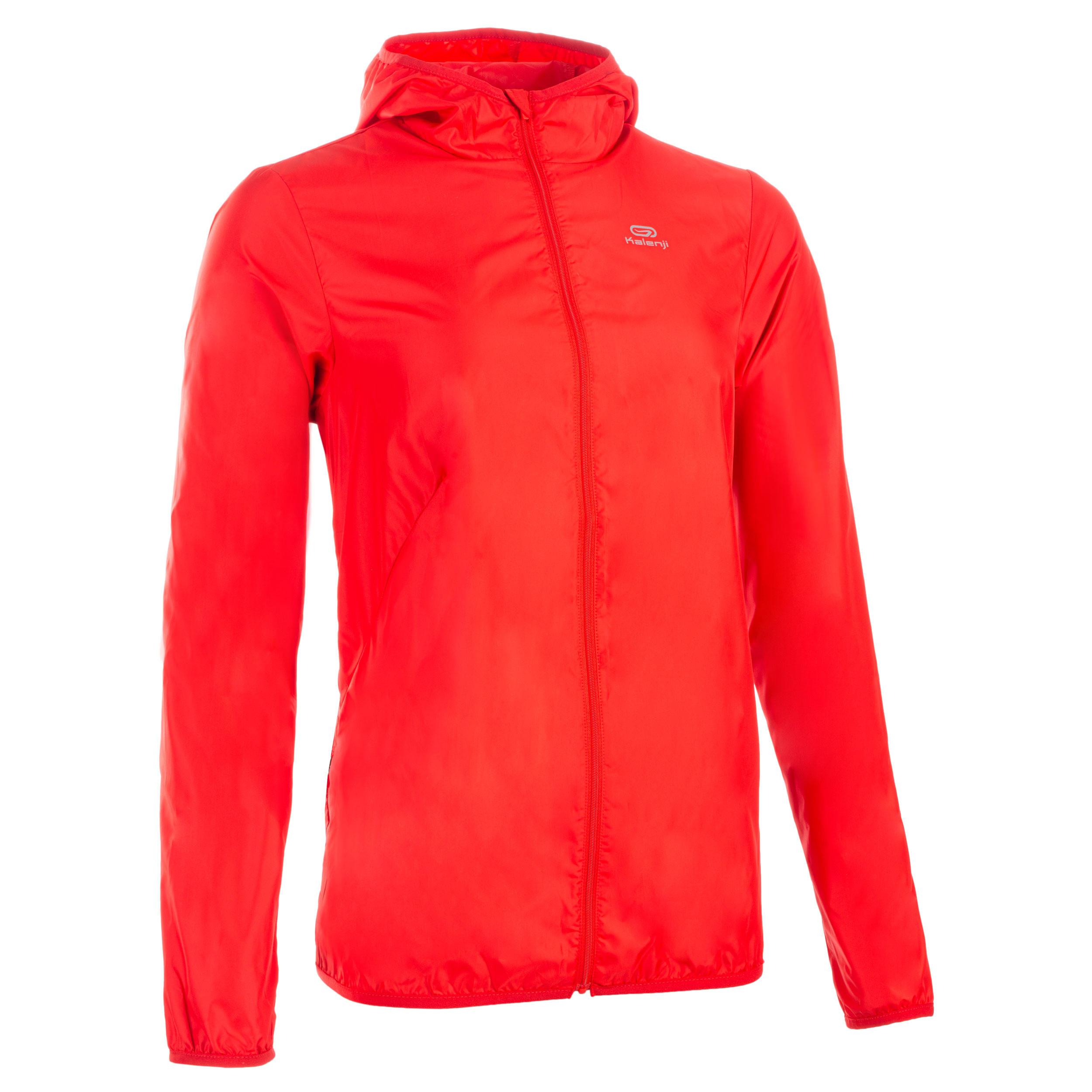 Windjacke Leichtathletik Club personalisierbar Damen rot