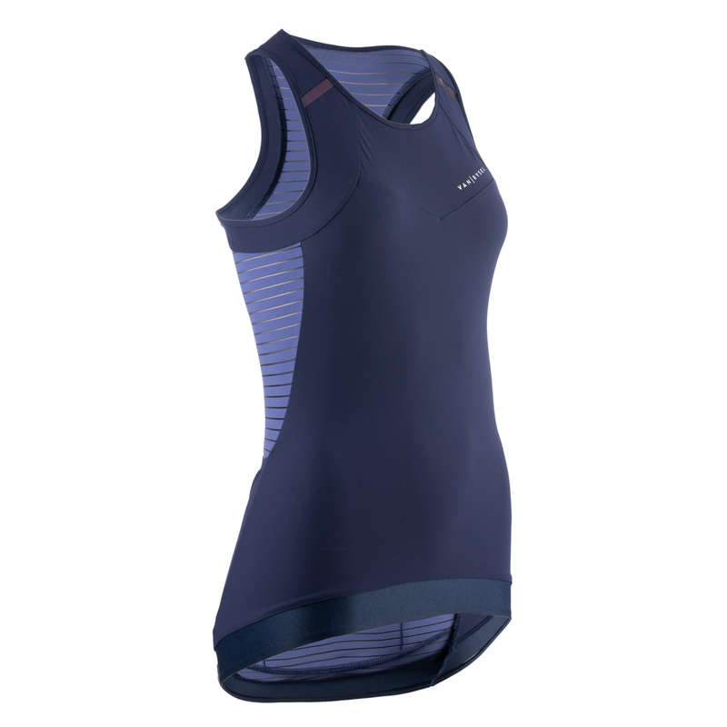 WOMEN WARM WEATHER ROAD APPAREL Clothing - Women's Cycling Tank Top 900 VAN RYSEL - By Sport