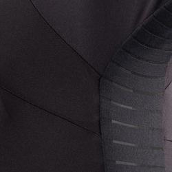 Wielershirt dames RCR met korte mouwen zwart