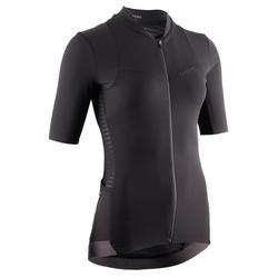 maillot vélo manches courtes RCR femme noir