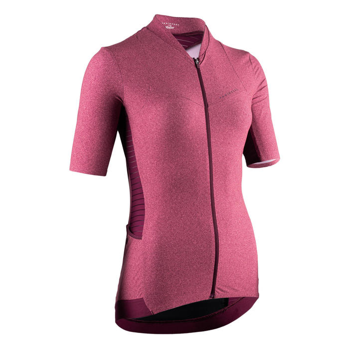 Women's Racer Short Sleeve Cycling Jersey - Distressed