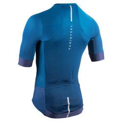 Maillot Vélo Route ENDURANCE RACER bleu