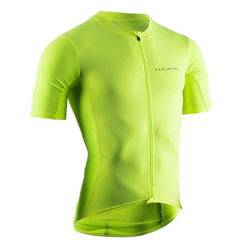 PÁNSKÉ OBLEČENÍ NA SILNIČNÍ CYKLISTIKU DO TEPLÉHO POČASÍ Cyklistika - CYKLISTICKÝ DRES NEO RACER VAN RYSEL - Helmy, oblečení, obuv