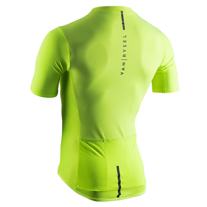 Maillot Vélo Route NEO-RACER jaune