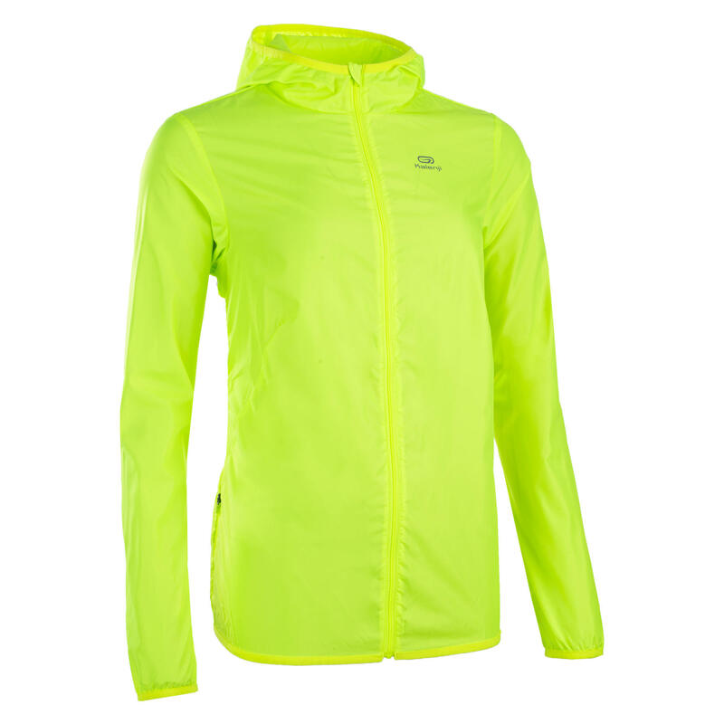 Women's Athletics Club Personalisable Windbreaker - Neon Yellow