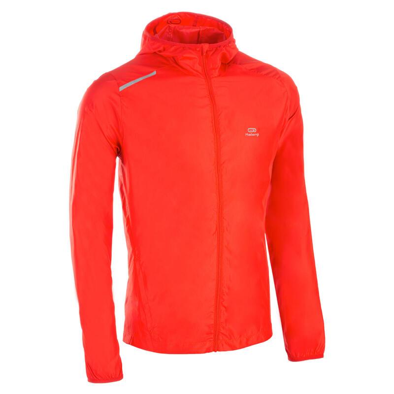 Cortaviento Atletismo club personalizable hombre rojo