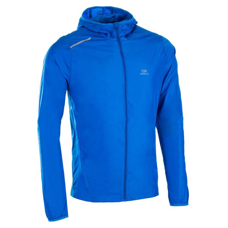 Corta-vento de Atletismo em Clube Personalizável Homem Azul