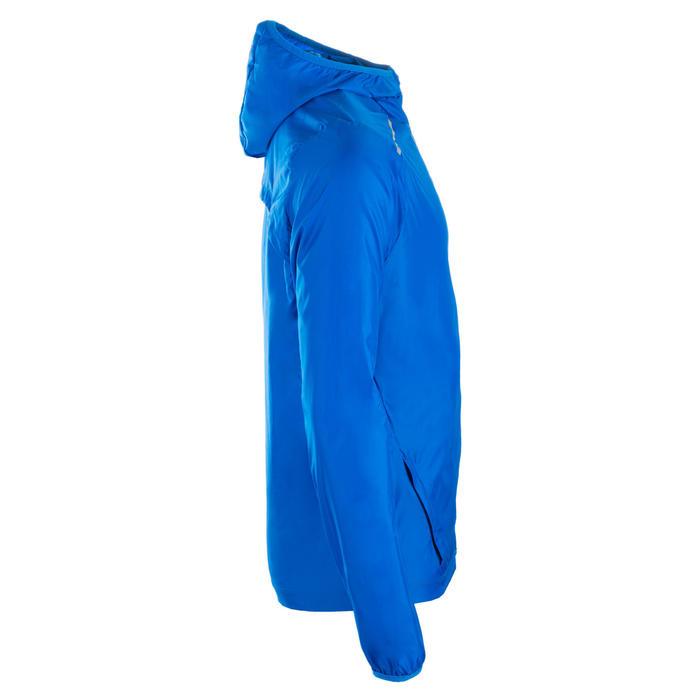 Windjack voor atletiek heren club personaliseerbaar blauw
