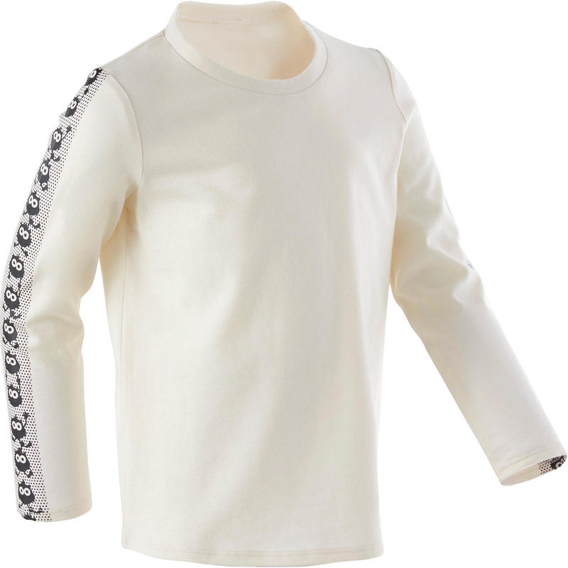 Kids' Baby Gym Long-Sleeved T-Shirt - Beige