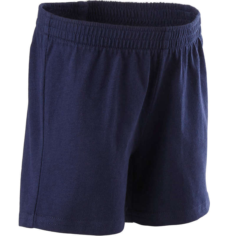 BABY GYM APPAREL Baby and Toddlers - 100 Shorts - Navy DOMYOS - Kids