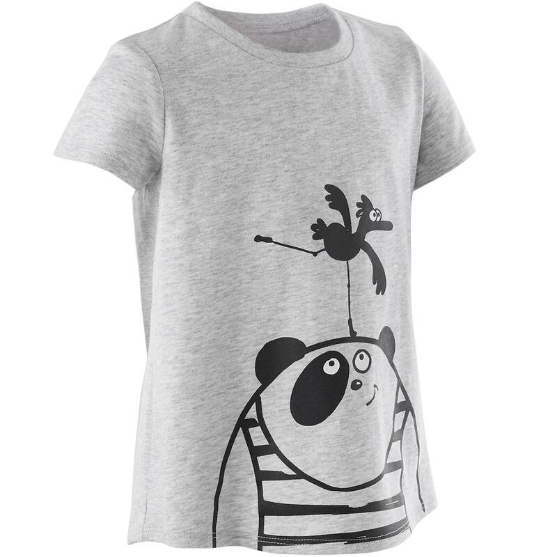 T-shirt gris basique Baby Gym enfant