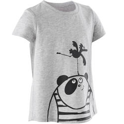 T-shirt 100 Baby Gym fille...