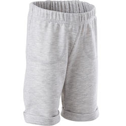 Short Baby Gym 500 Gris