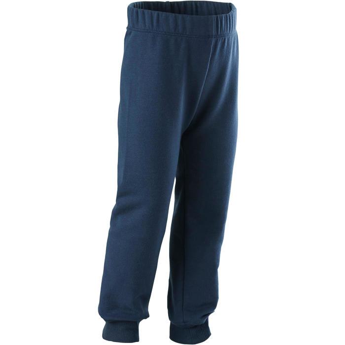 Pantalon 100 Baby Gym fille et garçon Marine