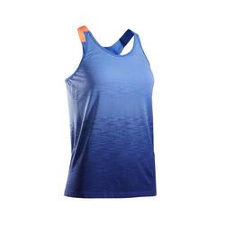 Ademend hardlooptopje voor dames Kiprun Care blauw
