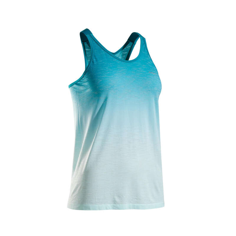 WOMAN WARM/MILD WEATHER RUNNING CLOTHES Clothing - KIPRUN CARE TANK TOP W KIPRUN - By Sport