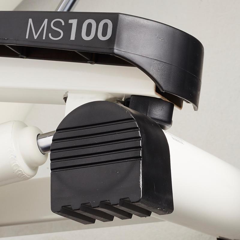 เครื่องออกกำลังแบบสเต็ปรุ่น MS100 (สีขาวงาช้าง/ดำ)