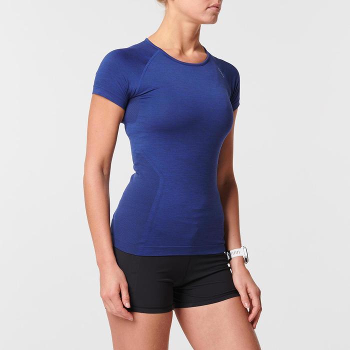 SKINCARE KIPRUN WOMEN'S BREATHABLE RUNNING T-SHIRT - BLUE