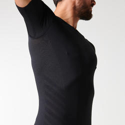 KIPRUN SKINCARE MEN'S BREATHABLE RUNNING T-SHIRT - BLACK
