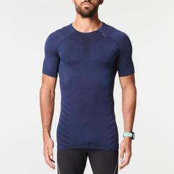 Ademend hardloop T-shirt voor heren Skincare blauw