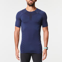 KIPRUN SKINCARE MEN'S BREATHABLE RUNNING T-SHIRT - BLUE