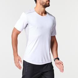 KIPRUN LIGHT MEN'S BREATHABLE RUNNING T-SHIRT - WHITE