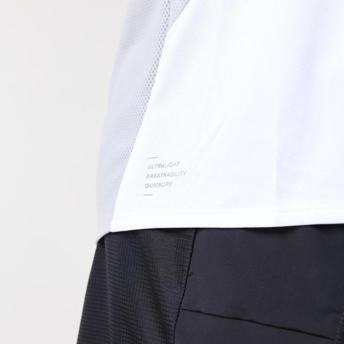 男款透氣跑步T恤KIPRUN LIGHT - 灰色