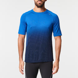 KIPRUN CARE MEN'S RUNNING T-SHIRT - BLUE