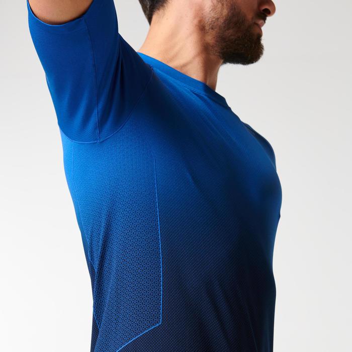男款跑步T恤KIPRUN CARE - 藍色