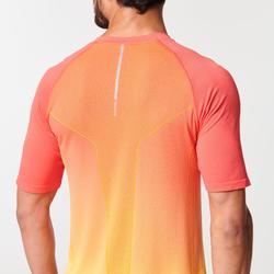 Hardloopshirt voor heren Kiprun Care geel