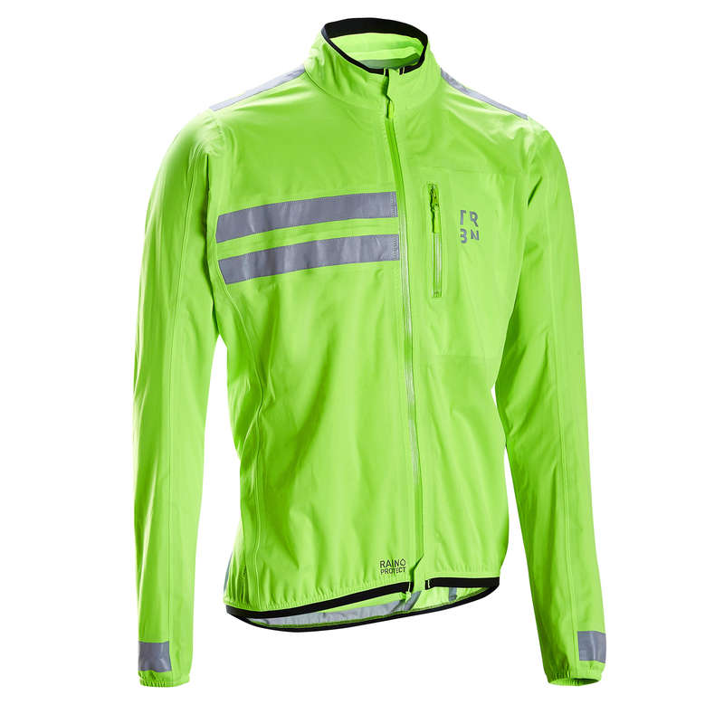 MEN WET WEATHER ROAD CYCLING APPAREL Cycling - Shower-Proof Jacket RC500 TRIBAN - Cycling