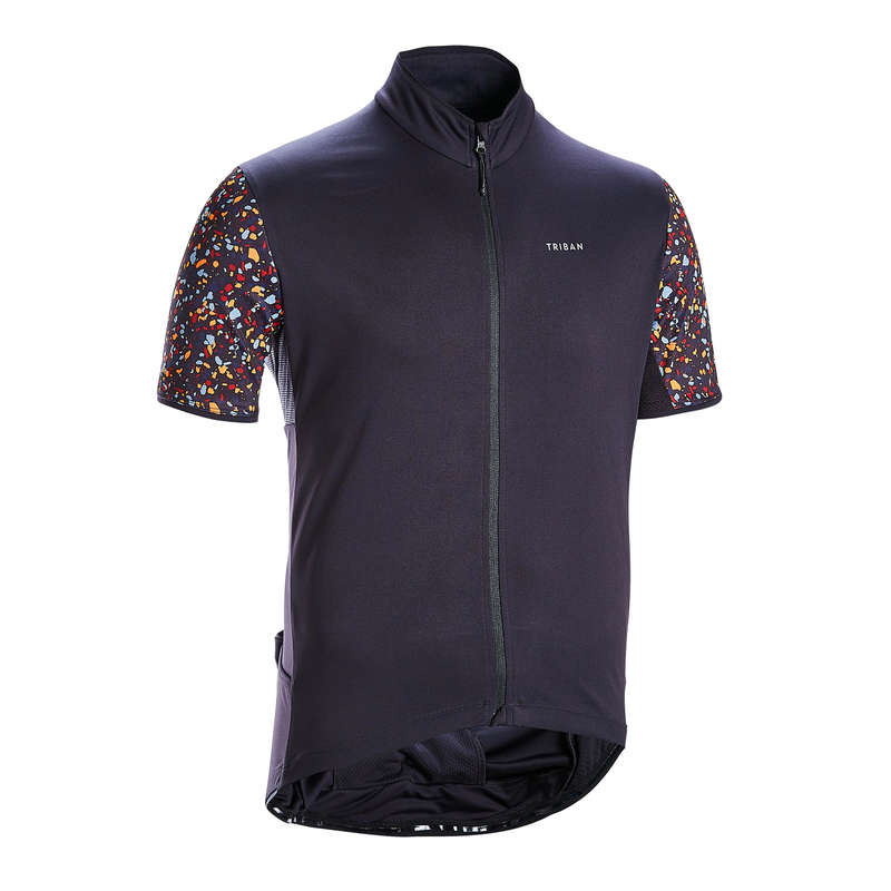 MEN WARM WEATHER ROAD CYCLING APPAREL Cycling - Short-Sleeved Jersey RC500 TRIBAN - Cycling