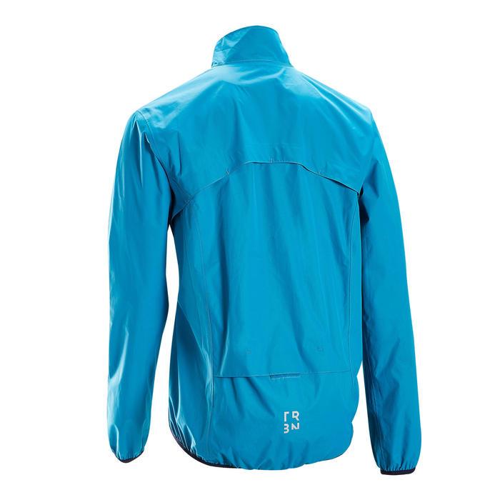 Regenjas voor heren RC100 blauw
