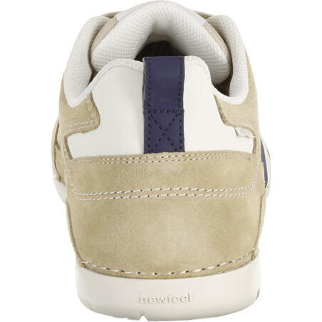 Flow SPW men's active walking shoes beige/blue